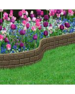 Edging Rubber, Brick Effect 1.2m