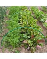 Flexible Green Garden Hoops for Creating Cloches