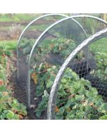 Small High Top Hoop Tunnel Kits With Garden Netting
