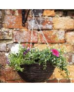 Rattan Hanging Basket 12 inches