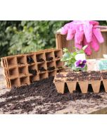 Wood Fibre Seed Trays 72 Cells