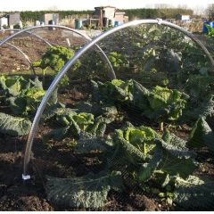Aluminium Large Garden Hoop Tunnel Kits