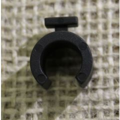 10mm Black Hoop Clips