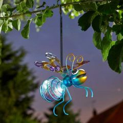 Solar Firefly Bug Lights Ornaments (Pack of 3)
