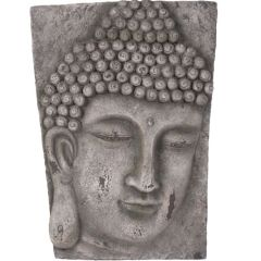 Buddha Wall Art - Stone Finish
