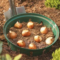 Round Bulb Basket 30cm Pack of 2
