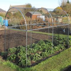 Domed Aluminium Fruit or Vegetable Walk In Cage