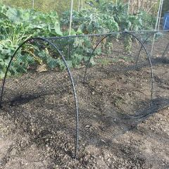 Black Modular Garden Hoops 90cm Rods