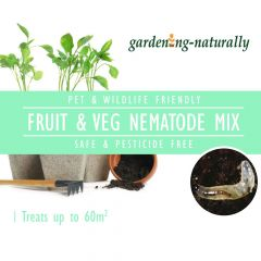 Natural Fruit and Vegetable Mix Nematodes Treats Up To 60Sq.m