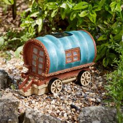 Solar 'Gypsy Rose' Fairy Caravan