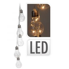 Indoor LED Light Bulbs on a String