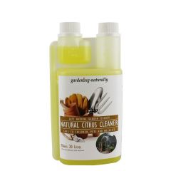 Natural Citrus Cleaner for the Garden and Greenhouse