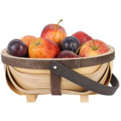 Traditional Wooden Oval Trug