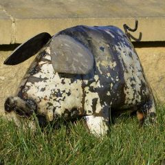 Metal Pig Garden Ornament
