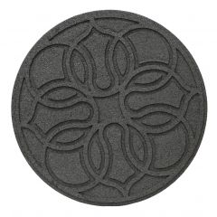 Grey Reversible Medallion Stepping Stones