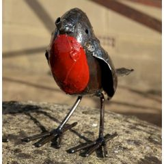 Metal Robin Bird