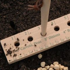 Seed and Plant Spacing Ruler