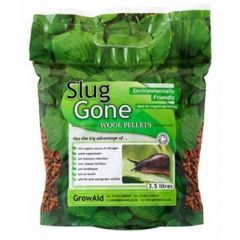 Slug Gone, Safe, Natural Wool Pellets