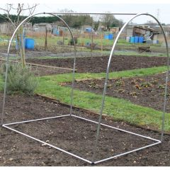 Small Aluminium Hoop Portable Domed Frame