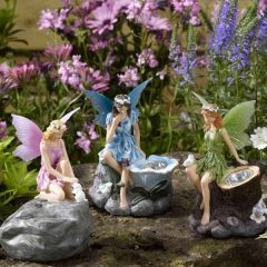 Solar Light - Fairies (Pack of 3) - Illuminated fairy
