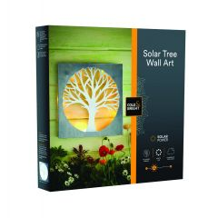Solar Wall Art - Tree