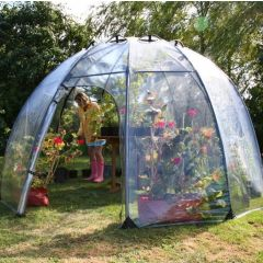 Sun Bubble Greenhouse Geometric Plastic Dome