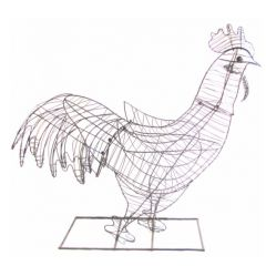 Topiary Frame - Rooster
