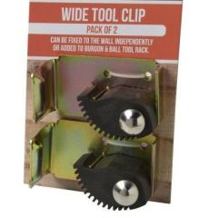 Universal Tool Rack Wide Clip Pack