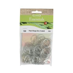 Zinc Coated Plant Rings Pack of 100