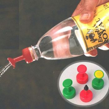 Bottle Top Waterers For Seeds and Houseplants