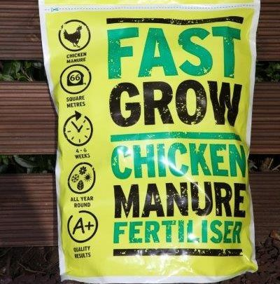 Fast Grow Chicken Manure Pellets 10kg