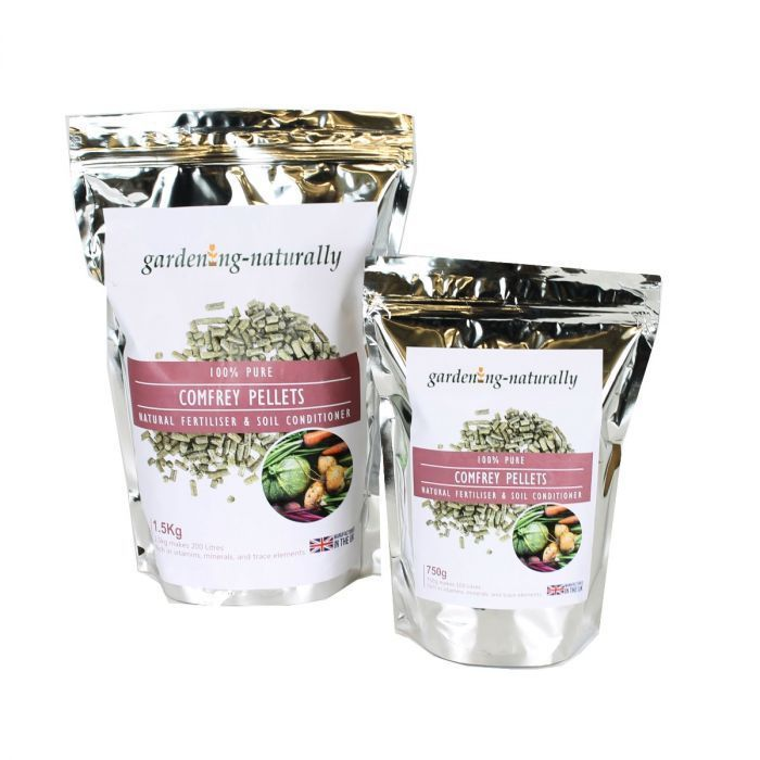 Comfrey Pellets Plant Feed, Pure and Natural