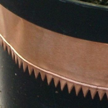 Copper Snail & Slug Tape Serrated