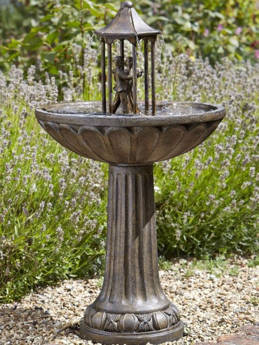Dancing Couple, Solar Water Feature