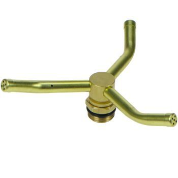 Brass 3 Arm Garden Sprinkler DW325