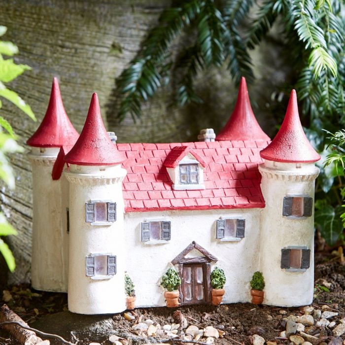 Solar 'Elvedon Manor' Fairy Castle