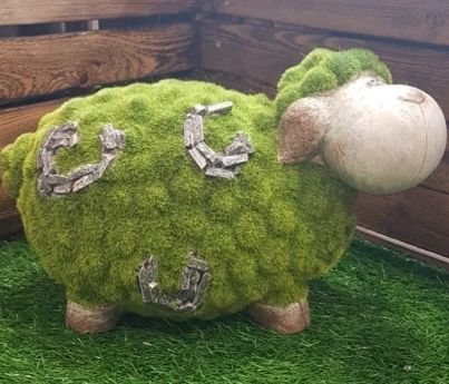 Flocked Grass Sheep