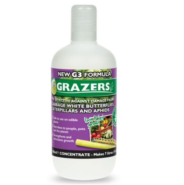 Grazers Cabbage White Butterflies & Caterpillars 350ml Concentrate
