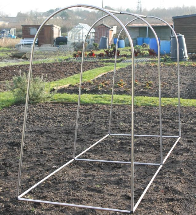 Small Portable Fruit or Vegetable Domed Frame