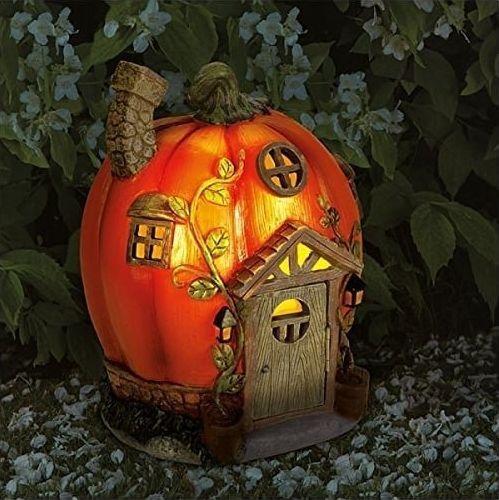 'Humpkin' Solar Fairy House