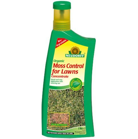 Organic Moss Control for Lawns from Neudorff