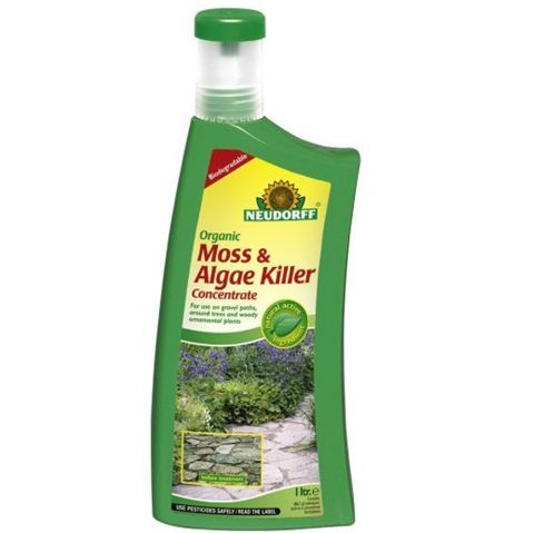 Moss and Algae Killer - Fast Acting from Neudorff