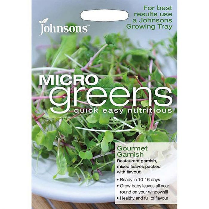 Micro Greens Gourmet Garnish Mixed Leaves
