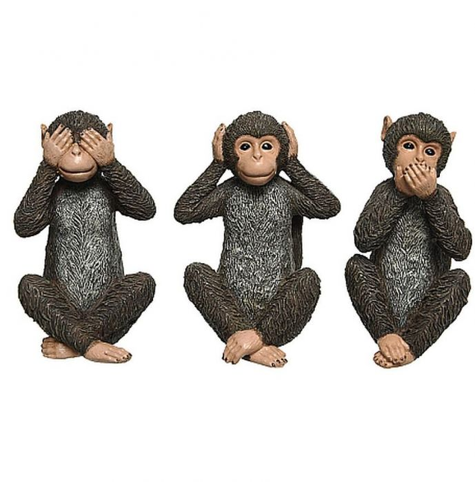 Three Monkeys - Indoor Ornaments