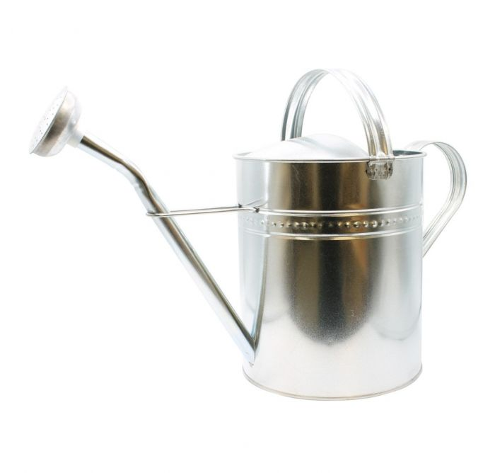 Galvanised Metal Watering Can 7 Litre