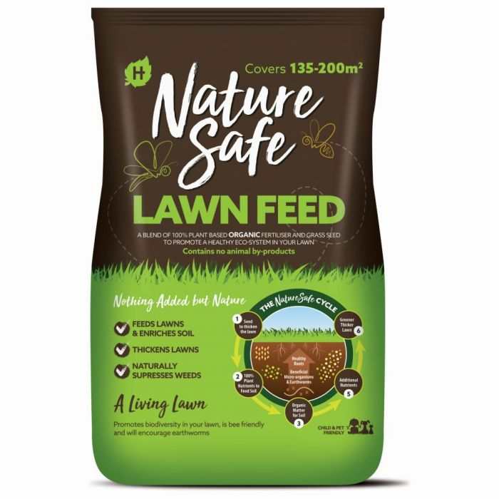 Organic Vegan Lawn Feed, Nature Safe 10kg