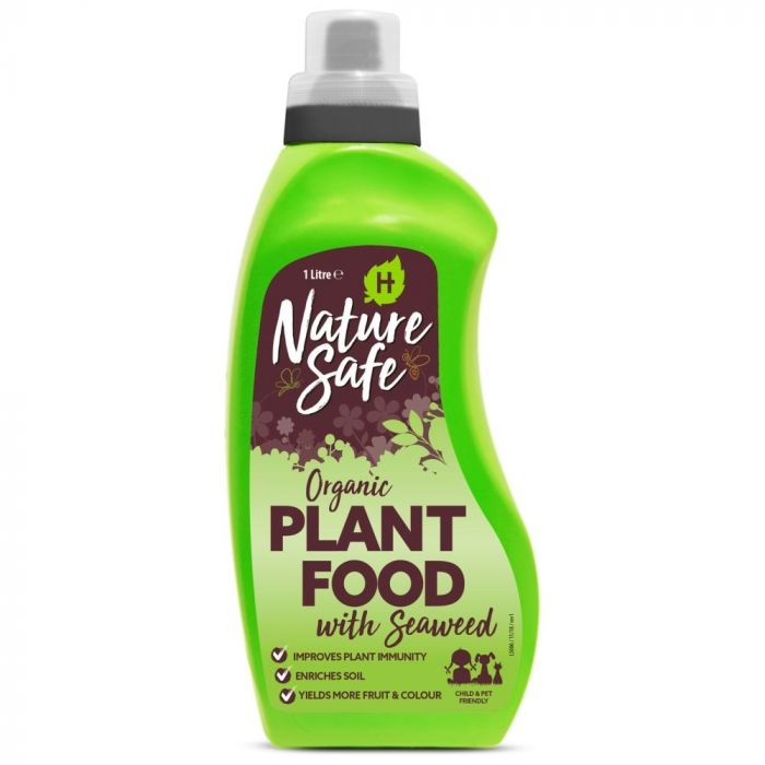 Organic Seaweed Plant Food from Nature Safe