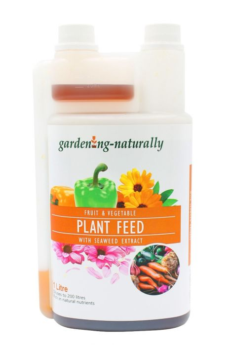 Plant Feed With Seaweed Extract From Gardening Naturally (1Litre)