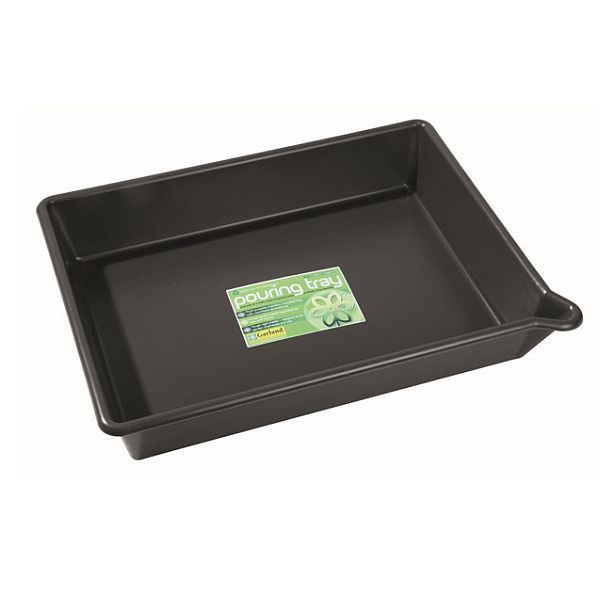 Pouring Tray (with Lip) Black