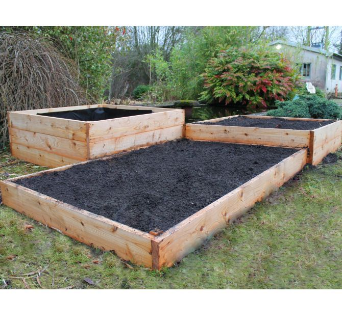 Cedar Wood Raised Beds